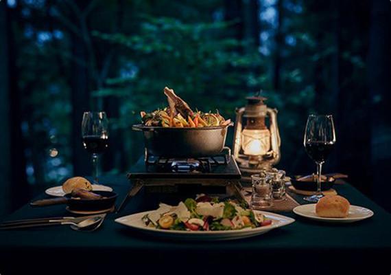 ダッチオーブンディナー「狩猟肉ディナー」
