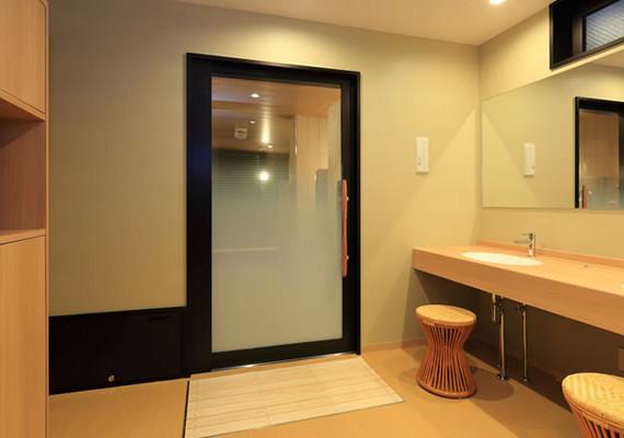 小浴場更衣室のイメージ