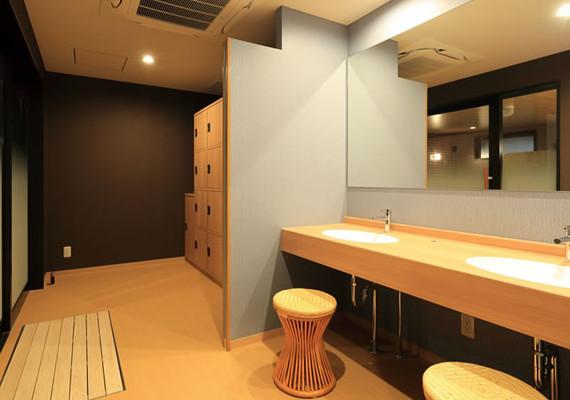 大浴場更衣室のイメージ