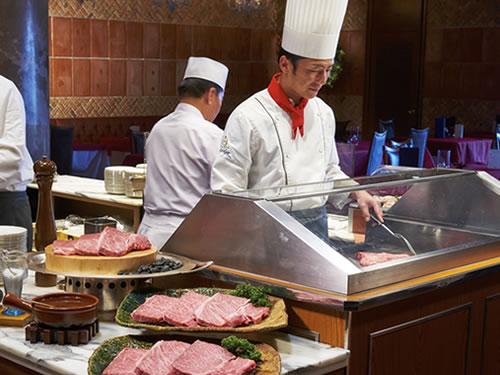 ホテル川久のお料理。