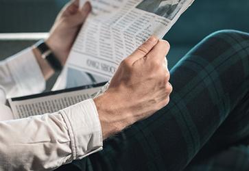 新聞お届けサービスのイメージ